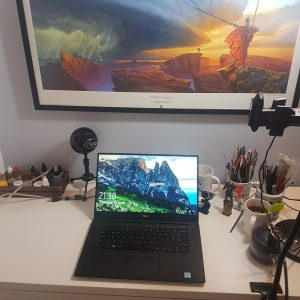 Non Hobby-Desk for Blogging!