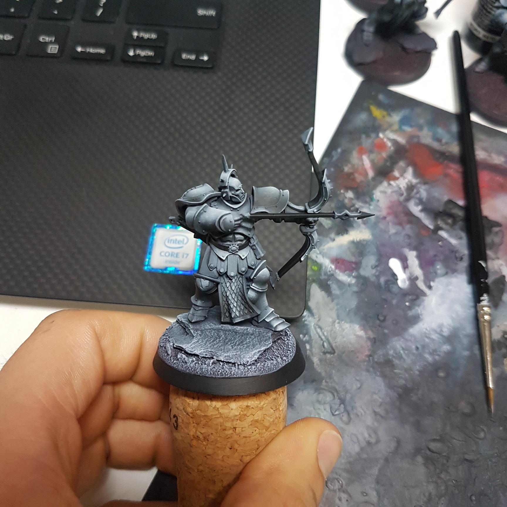 Painting Stormast Eternals Judicator Front