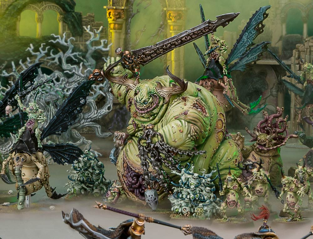Age of Sigmar : BATTLETOME MAGGOTKIN OF NURGLE updated ...